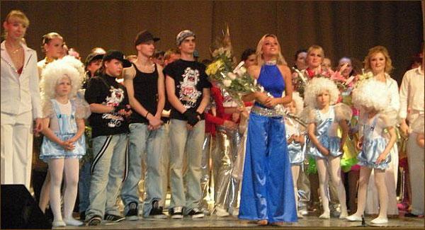 Отчетный концерт школы танцев Дарьи Сагаловой